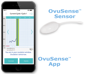 OvuSense App and Sensor